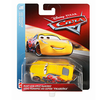 Cars, 3 personaje Die Cast Cruz Ramirez Race de la Cars