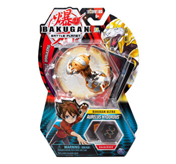 Bakugan, bila Ultra Aurelus Hydorous Lion gold de la Bakugan