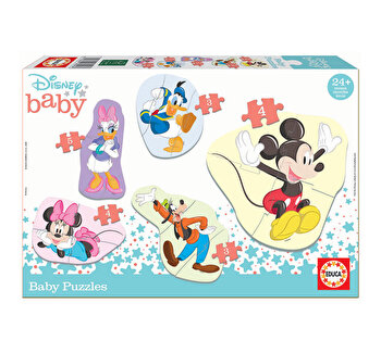 Puzzle Baby Mickey and Friends, 16 piese