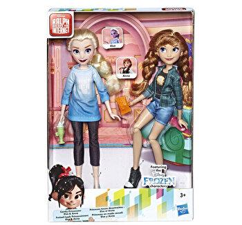Set papusi Disney Princess Comfy II – Anna si Elsa de la Disney