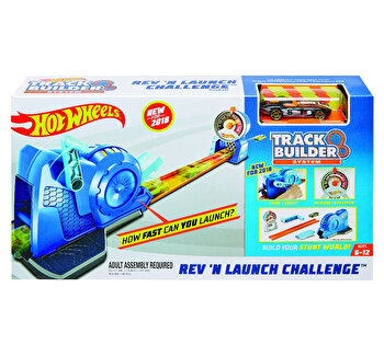 Set de joaca Hot Wheels, trackbuilder - lansator pista