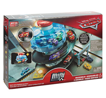 Set de joaca – mini masinute Cars de la Disney Pixar