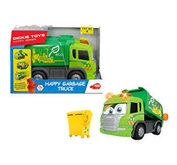 Masinuta de gunoi Dickie Toys, Happy Series 25 cm de la Dickie