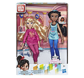 Set papusi Disney Princess Comfy I – Aurora si Jasmine de la Disney