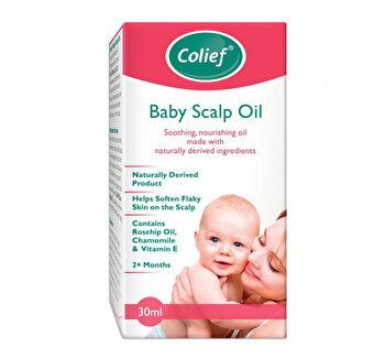 Ulei Calmant pentru cruste de lapte Colief Baby Scalp Oil,30 ml