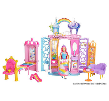 Set Barbie - Castelul Curcubeu