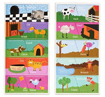 Joc magnetic Momki – Lumea animalelor de la Momki