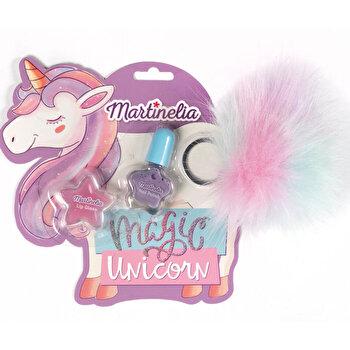 Set frumusete Unicorn Dreams cu breloc, Martinelia, 3 piese de la MARTINELIA