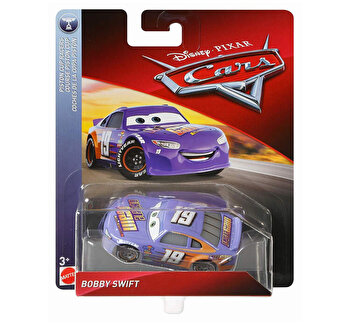 Cars, 3 personaje Die Cast Bobby Swift de la Cars