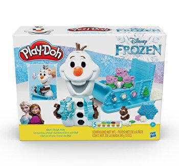 Play-Doh, Set Frozen – Olaf si fulgii de zapada de la Play-Doh