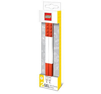 LEGO, Set 2 pixuri cu gel culoarea rosie de la LEGO