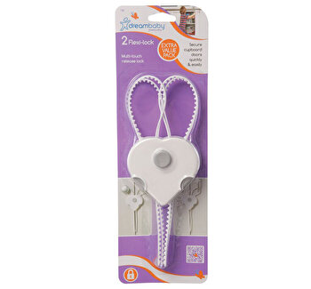 Sigurante flexibile pentru usi Dreambaby, 2 buc de la Dreambaby