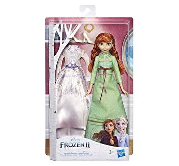 Frozen 2 – Papusa Anna cu costumatie de dormit de la Disney