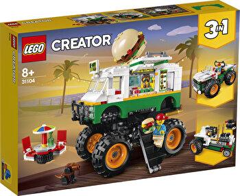 LEGO Creator 3 in 1, Camion gigant cu burger 31104