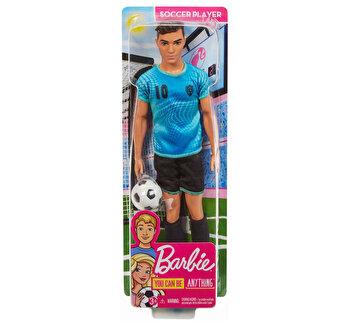 Papusa baiat, Ken – cariera jucator de fotbal de la Barbie
