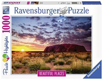 Puzzle Muntele Uluru, 1000 piese de la Ravensburger