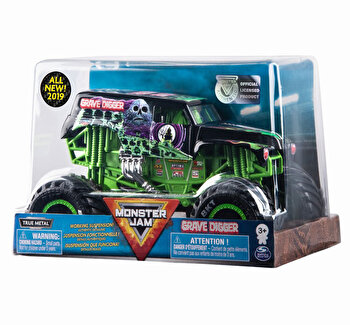 Monster Jam, machete metalice scara 1 la 24 grave digger de la Monster Jam