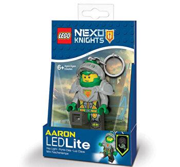 LEGO NEXO KNIGHTS, Breloc cu laterna – Aaron de la LEGO