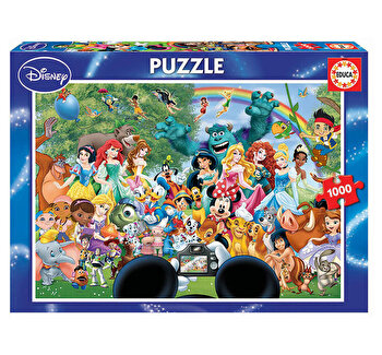 Puzzle The Marvellous World of Disney II, 1000 piese