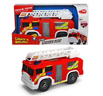 Masina de pompieri cu sunete si lumini Dickie Toys, 30 cm de la Dickie