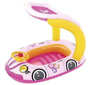 Pluta pentru copii, Bestway, masinuta roz de la BestWay