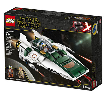 LEGO Star Wars Episode IX, Resistance A-Wing Starfighter 75248