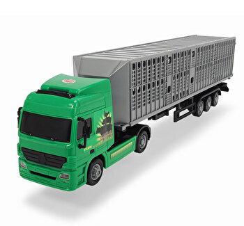 Camion Transport animale cu remorca, Dickie, 42 cm de la Dickie