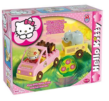 Set constructie Unico Plus Hello Kitty Mini Safari 7 piese