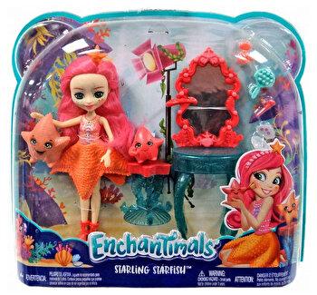 Enchantimals, set de joaca cu apa, Starling Starfish de la Enchantimals
