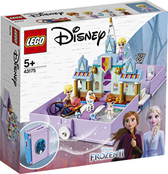 LEGO Disney Princess, Aventuri din cartea de povesti cu Anna si Elsa 43175