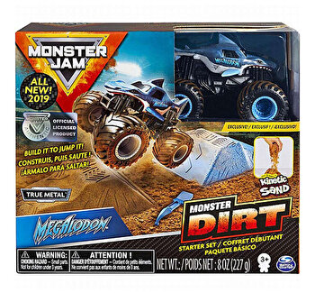 Monster Jam, set camioneta cu nisip megladon de la Monster Jam