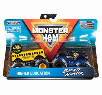 Monster Jam, set 2 machete higher edducation si bounty hunter de la Monster Jam