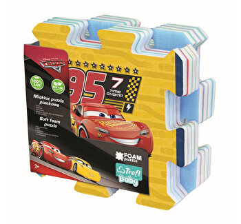 Puzzle Trefl din spuma, Cars 3