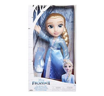 Papusa Elsa cu rochie de calatorie, 36 cm