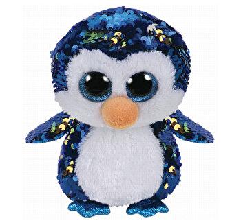 Pinguinul Payton Cu Paiete - plus Ty, 15CM, Boos