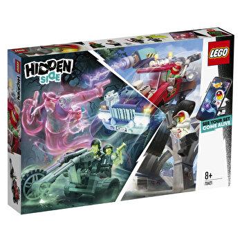 LEGO Hidden Side, Camionul de cascadorii al lui El Fuego 70421 de la LEGO