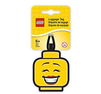LEGO Iconic, Breloc din cauciuc pentru Ghiozdan – Fata de la LEGO