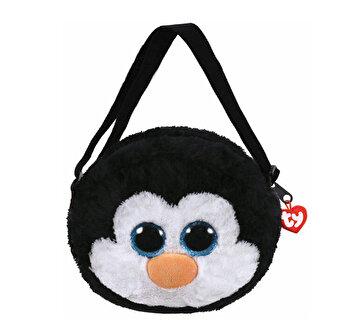 Gentuta de mana, Pinguinul Waddles - plus Ty, 15 cm