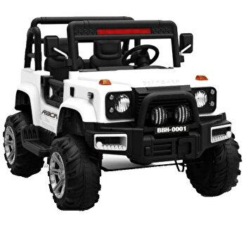 Masinuta electrica pentru copii SUV, alb de la SUV