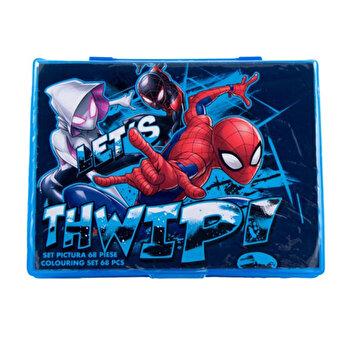 Set pictura 68 piese Spider-Man de la Spider-Man