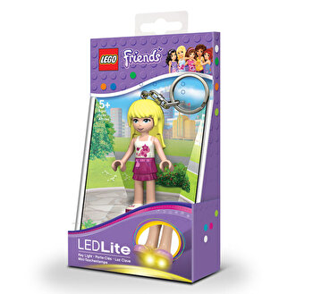 LEGO Friends, Breloc cu laterna – Stephanie de la LEGO