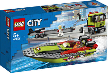 LEGO City, Transportor de barca de curse 60254 de la LEGO