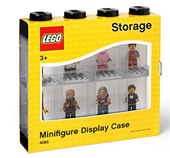 Cutie 8 minifigurine – neagra LEGO Storage de la LEGO