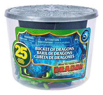 Dragoni in galetusa 25 de figurine de la Dragons