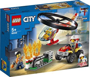 LEGO City, Interventie cu elicopterul de pompieri 60248 de la LEGO