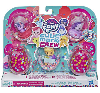 My Little Pony, Set mini figurine Cutie Mark Crew Tea Party de la My Little Pony