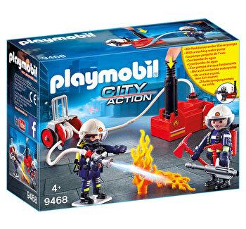 Playmobil City Action, Pompieri cu pompa de apa de la Playmobil
