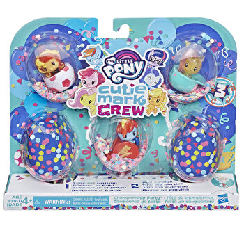 My Little Pony, Set mini figurine Cutie Mark Crew Championship Party
