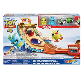 Toy Story 4 – Set Hot Wheels Carnavalul de la Toy Story
