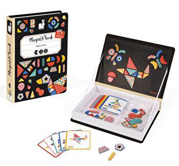 Carte magnetica – Origami, 43 piese de la Janod